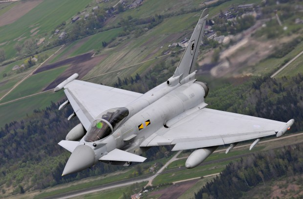 A contract worth €200M (approximately £165M) to enhance the capability of the Eurofighter-Typhoon has been signed at an International Defence Exhibition in Abu Dhabi. The Brimstone 2 close air support weapon will further enhance Typhoon's effectiveness, enabling it to deploy the precision guided weapon against high-speed manoeuvring surface targets with low collateral damage.