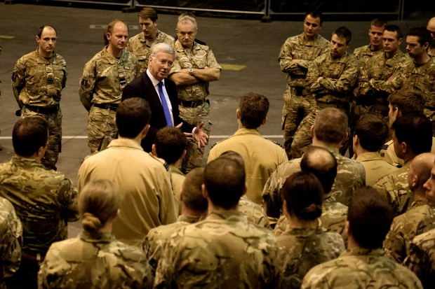 During his second visit to Cyprus, Defence Secretary Michael Fallon met RAF personnel from 903 Expeditionary Air Wing (EAW) who are providing the UK's contribution to coalition air operations against ISIL. He discussed the campaign and spoke to the pilots who are flying twice daily missions as the UK continues to make the second largest contribution to coalition airstrikes in support of Iraqi forces. The Defence Secretary also met troops from the Second Battalion, Princess of Wales's Royal Regiment (2PWRR) and received a briefing on the key role they are playing in the training programme to build the capacity of the Iraqi Security Forces. So far over 1000 Kurdish Peshmerga have completed training and the UK will lead the Coalition's counter-IED training programme which is due to start this month. [Picture: Crown Copyright]