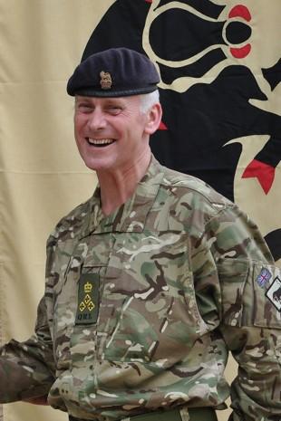 Brigadier Andrew Hughes in Sierra Leone