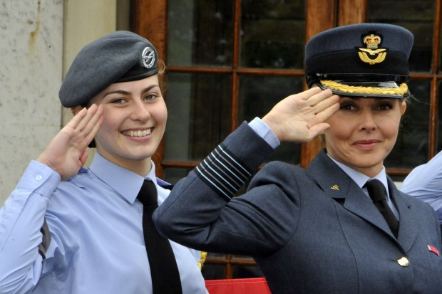 Group Captain Carol Vorderman - Carol Is First Female Honorary Ambassador For RAF Air Cadets and is supporting Armed Forces Day 2015.
