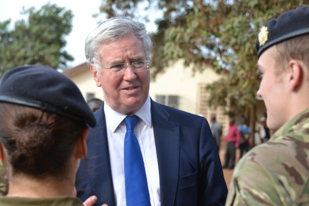 Defence Secretary visits UK troops deployed on Operation Gritrock, combatting Ebola in Sierra Leone. Michael Fallon, has said that UK personnel have made a vital contribution to tackle Ebola, during a visit to Sierra Leone.