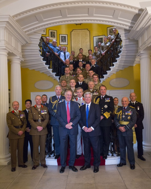 Armed Forces Reserves Day Event At Admiralty House - Tue 23 June