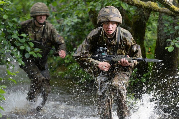Trainee soldiers have been cutting their teeth during a demanding week-long exercise in Northumberland. Scores of junior soldiers left the classrooms of Army Foundation College in Harrogate, where they are studying on a 20 week-long basic training course, and took to the hills of Otterburn training area.