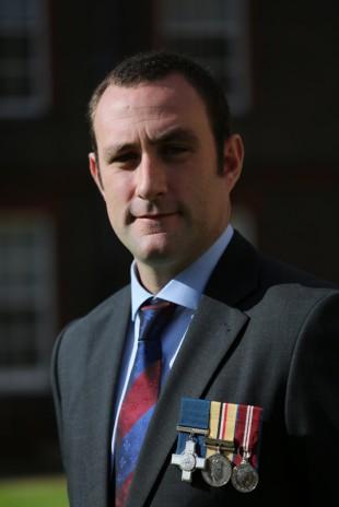 Chris Finney GC, former Household Cavalry