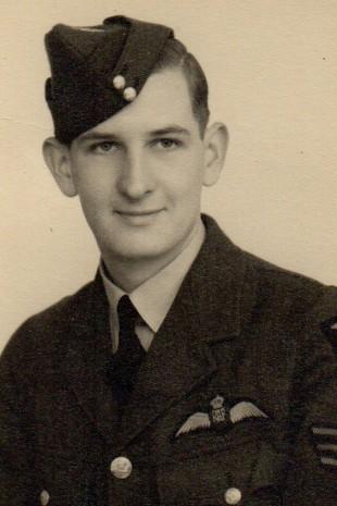 William Clark in his RAF uniform