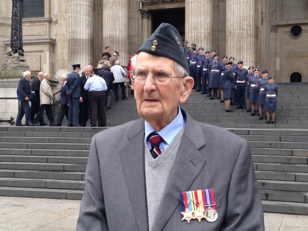 RAF veteran William Clark