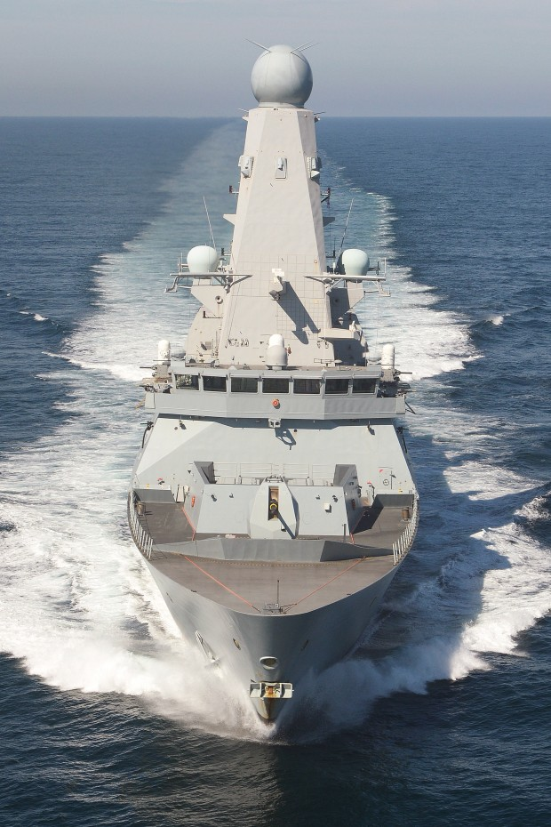 "HMS Defender: A Royal Navy warship has been given a vital uplift in stores and fuel as she continues her work fighting Daesh as part of the US Carrier Strike Group in the Gulf. In a highly complex scenario Type 45 destroyer HMS Defender was refuelled with 500,000 litres from US tanker USNS Pecos at the same time as US aircraft carrier USS Harry S Truman. This means all three ships had to sail at the same speed of 14 knots and ensure they were less than 50 metres apart – a tough job when the carrier displaces 100,000 tonnes of water. Adding to the mix was a transfer of 2500 tonnes of stores by helicopter from the USNS Medgar Evers to the aircraft carrier. HMS Defender's Navigating Officer Lieutenant Barry Crosswood said: ""Replenishing in an operational environment really focuses the mind, particularly when the task force is in such close proximity."" In total six ships were involved in the replenishment: HMS Defender, USS Harry S Truman, USS Anzio, USS Ramage, USNS Pecos, and USNS Medgar Evers. HMS Defender is on a nine month deployment, and will continue working with the American and French carrier strike groups to support their air campaigns against Daesh in Iraq and Syria."