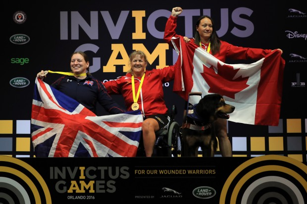 Nerys Pearce won silver in the women's heavyweight powerlifting