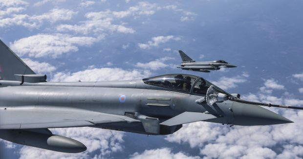 8 Typhoon Aircraft from RAF Lossiemouth in Scotland are taking part in Exercise Bersama Lima 16 and will be based out of RMAF Butterworth in Malaysia during their stay.