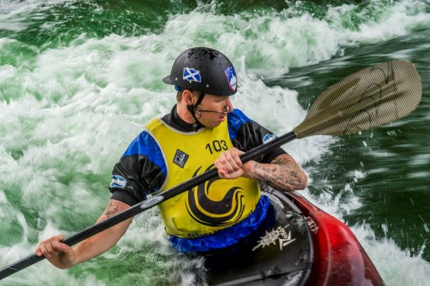 A look back at The Army Freestyle Kayaking competition at the Cardiff International White Water centre in Cardiff, Wales. Crown Copyright.