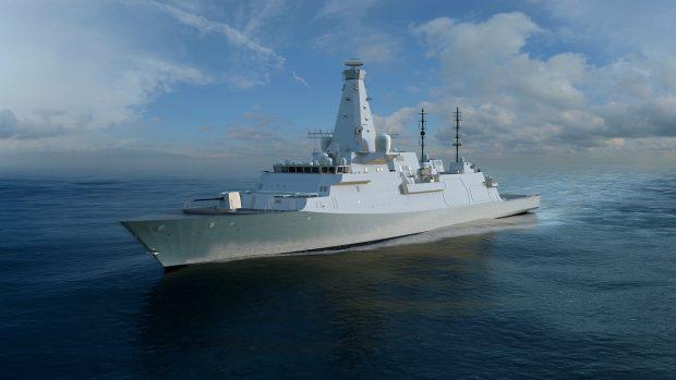 CGI of Type 26 Global Combat Ship