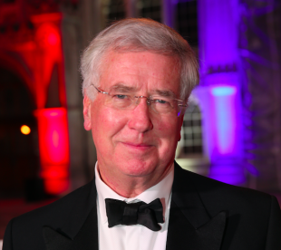 Secretary of State for Defence, Sir Michael Fallon at the Millies Awards at the Guildhall in London.