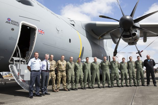 A400M in New Zealand