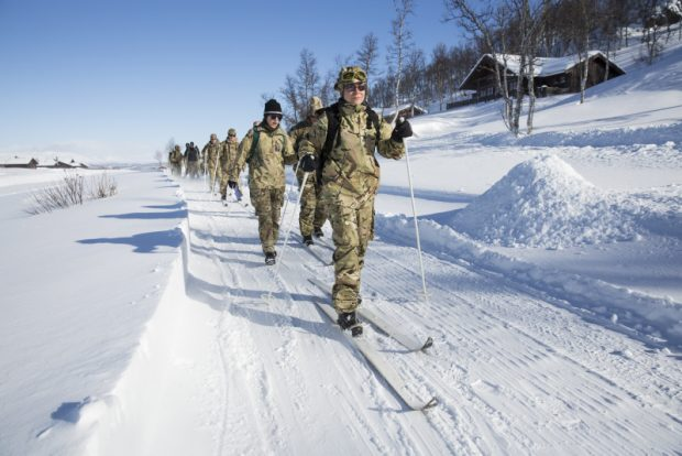 RAF RESERVISTS TRAIN WITH NORWEGIAN FORCES