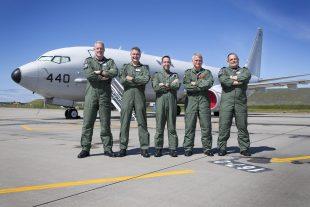 P8-A Maritime Patrol Aircraft and aircrew