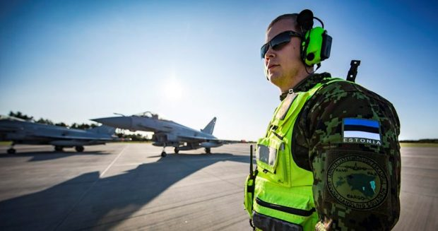 Two Royal Air Force Typhoon Aircraft from 3 (Fighter) Squadron have arrived in Estonia to conduct a training mission.