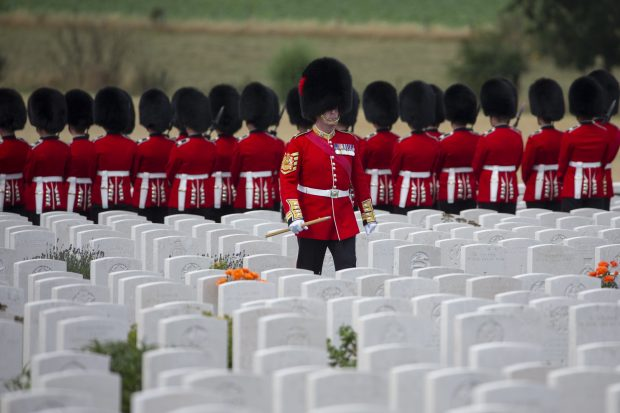 Events were held in Belgium to mark the Centenary anniversary of the beginning of the Third Battle of Ypres – widely known as Passchendaele. Crown Copyright.