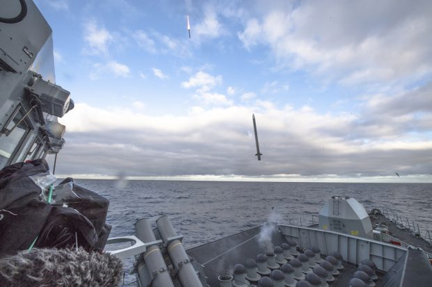 HMS Argyll is the first Royal Navy ship to complete its tests of the new Sea Ceptor missile system.