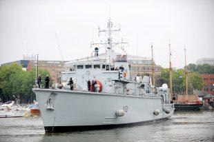 Mine Countermeasures Vessel HMS Cattistock