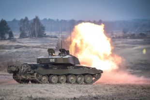 The Queen's Royal Hussars (QRH) make use of Hohne Ranges for intense 3 week Live Fire Exercise.