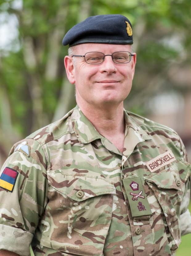 Lieutenant General Martin Bricknell, Surgeon General of the British Armed Forces