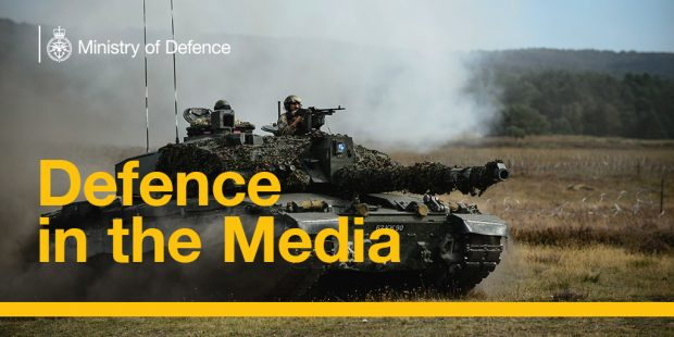 Defence in the Media. Crown Copyright.