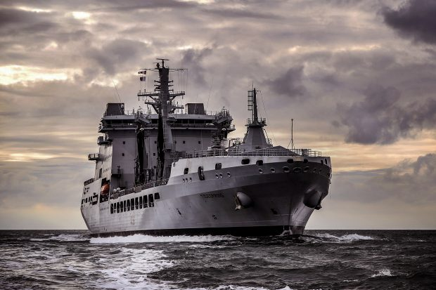 Royal Fleet Auxiliary Tidespring