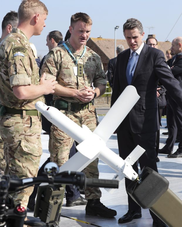 During a visit to Qineh is building the UK Centre of Excellence for Maritime Mission Systems, the Defence Secretary saw first-hand the world-leading work being done in the field by British industry.