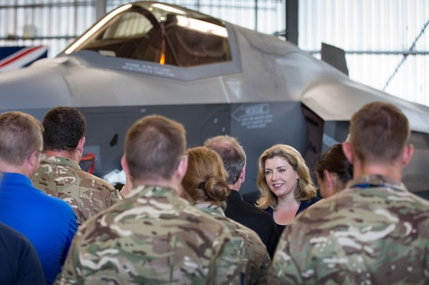 Defence Secretary meets RAF personnel in Akrotiri, Cyprus